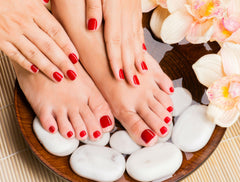 A bad mani and pedi may mean bad news!
