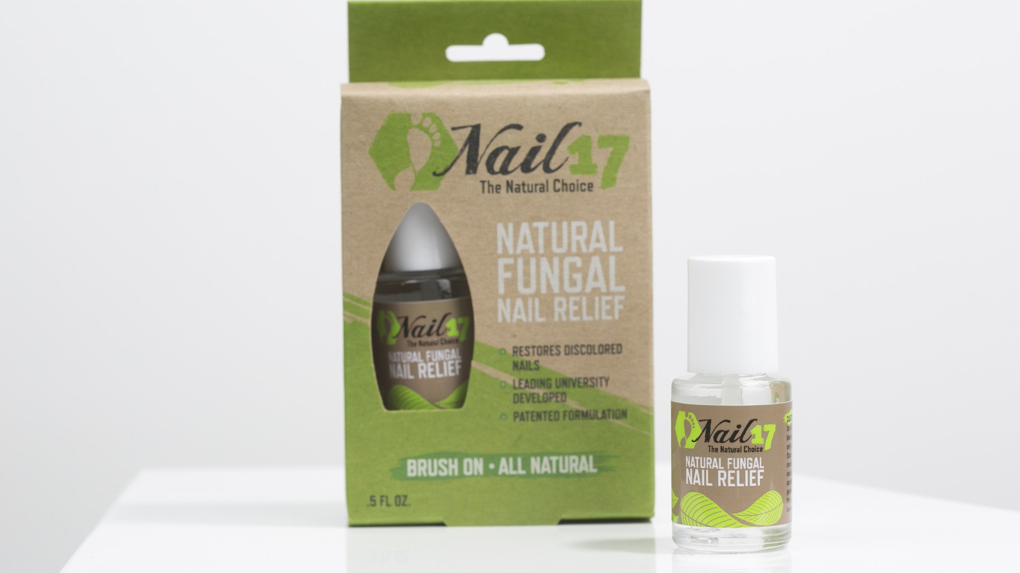 Nail17 Natural Fungal Nail Relief