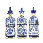 B&W Sitting Qing Emperors SET of 3