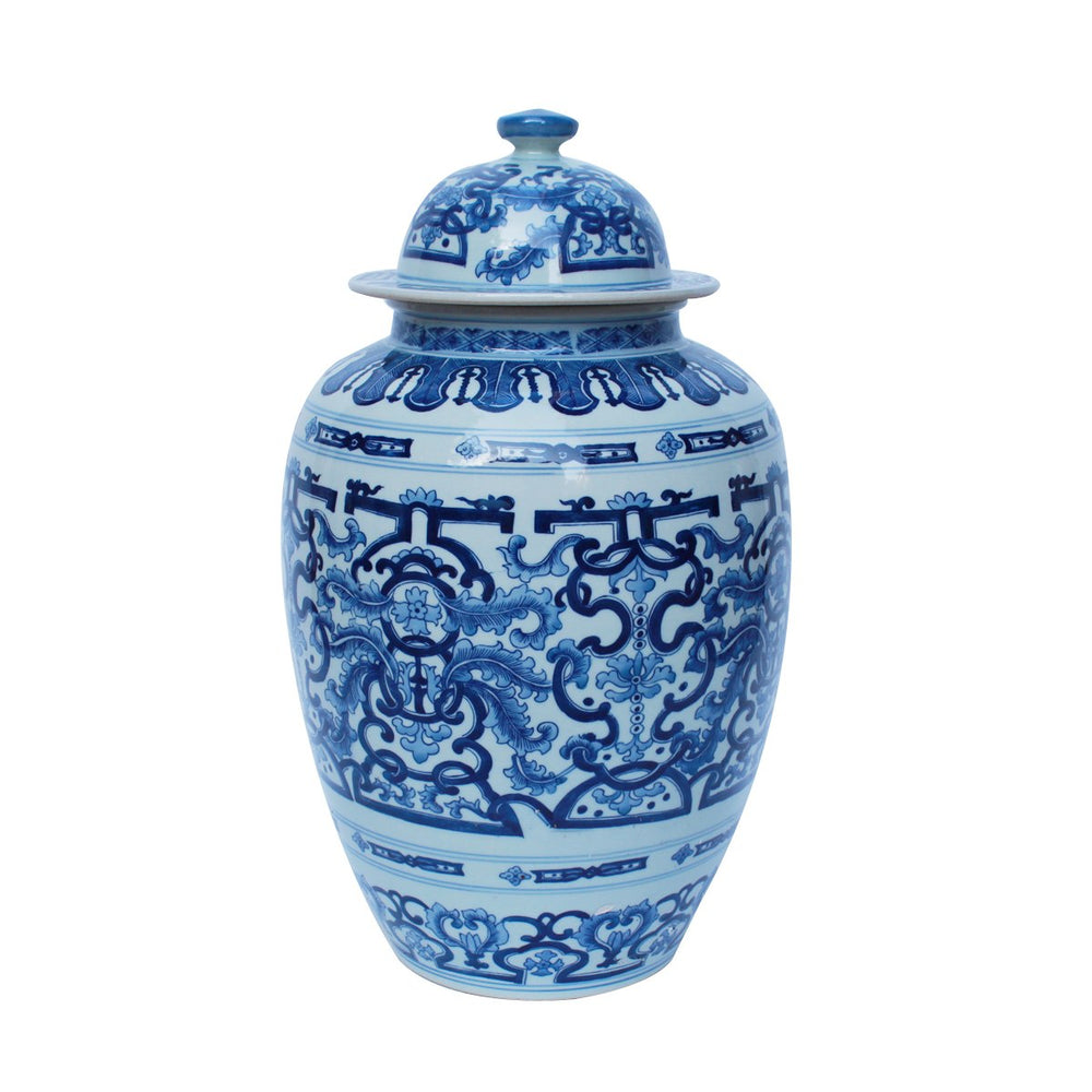 Blue and White Dragon Heaven Jar