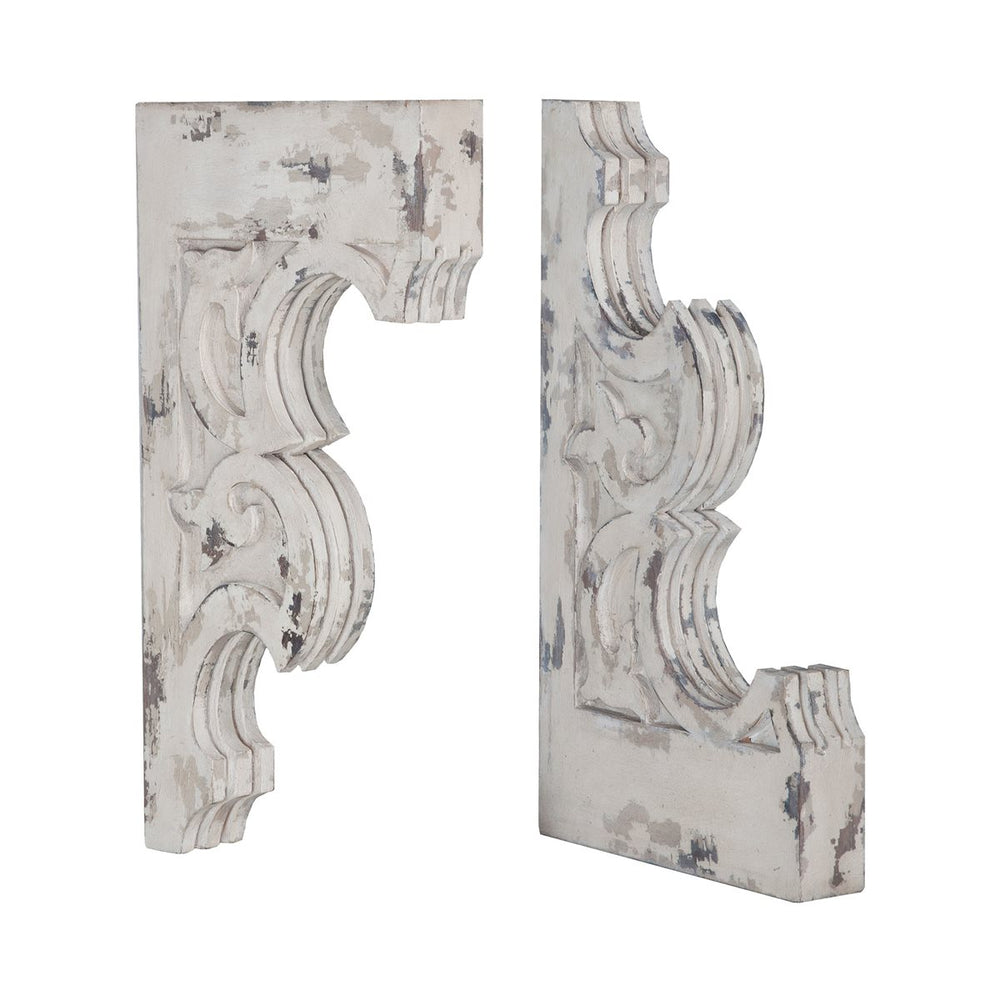 Carved Corbels PAIR 15x3x29