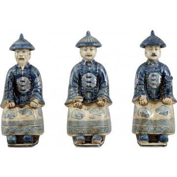 Qing Royal Figures Set of 3