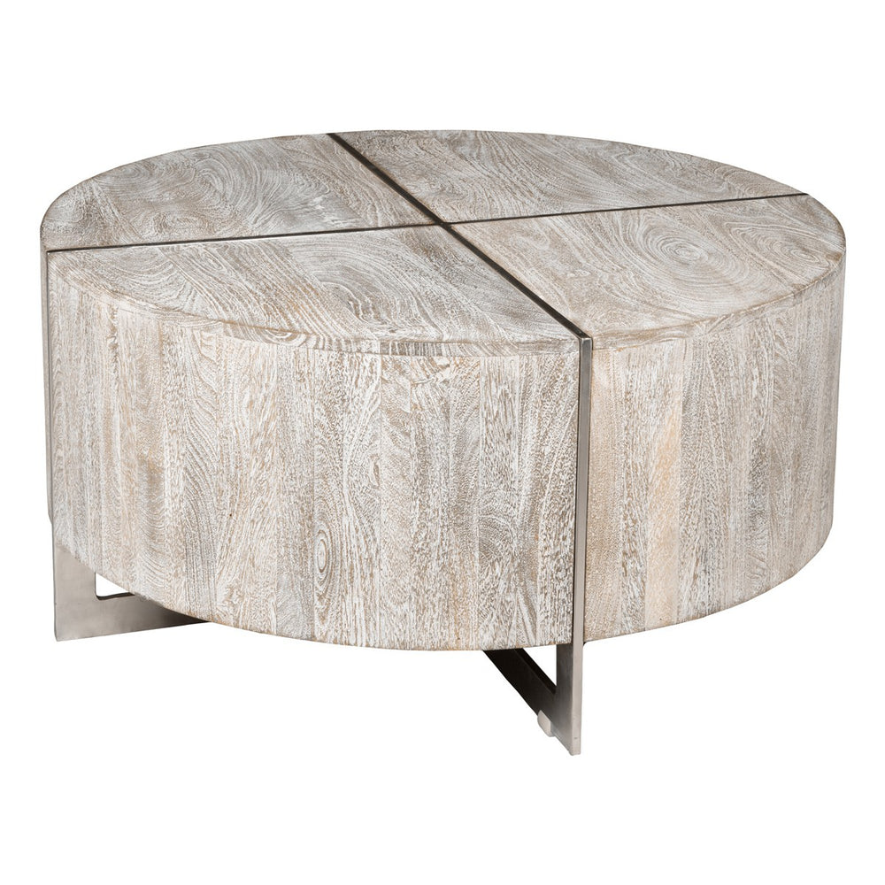 Mango Grey Coffee Table 36x36x18h