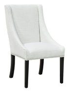 Linen Side Chair 23x28dx40h