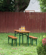 Vintage Beer Table Set 86""