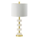 Marble Rings Table Lamp 13dia26h