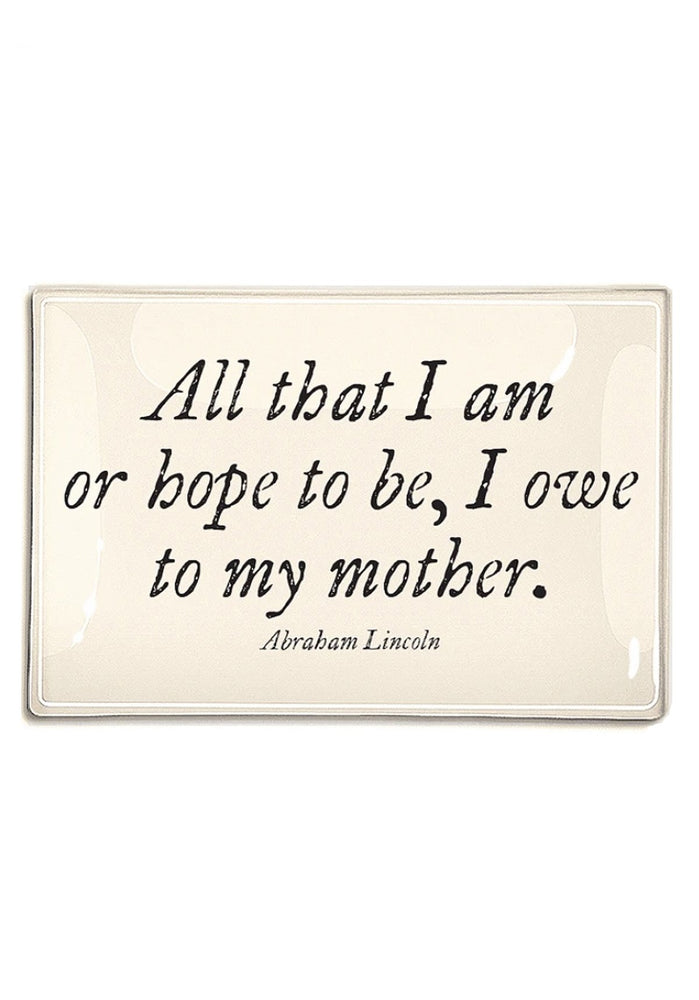 All That I Am 4x9 Decoupage Tray
