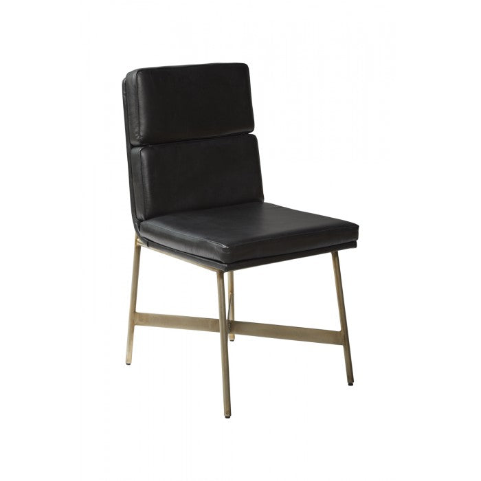 Duet Chair Black 18x22x33h