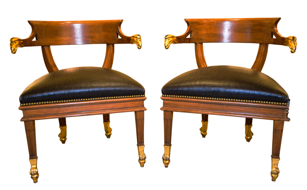 William Switzer Chairs PAIR