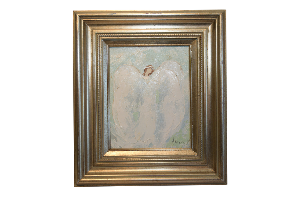 Angel Painting 14.5x16.5