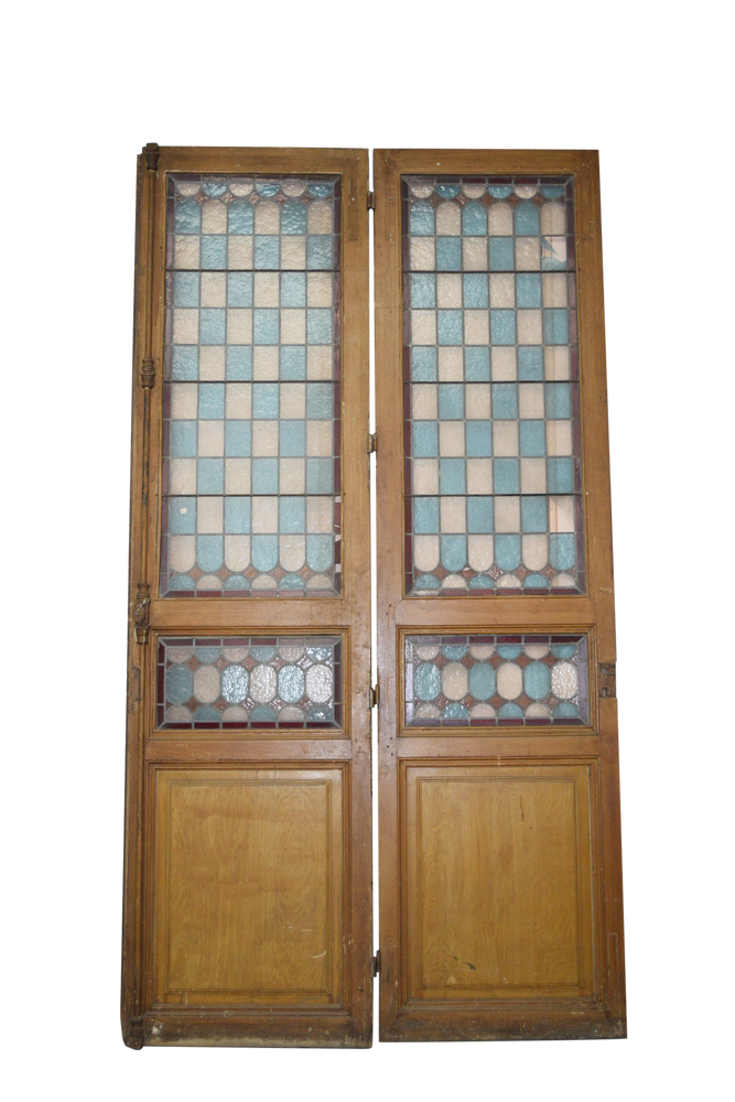 Antique French Doors PAIR 31x115ea