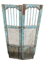 Turquoise Jali Gate Pair 20x72ea