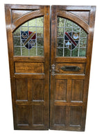 Castle Door Pair 23.5x76.5h