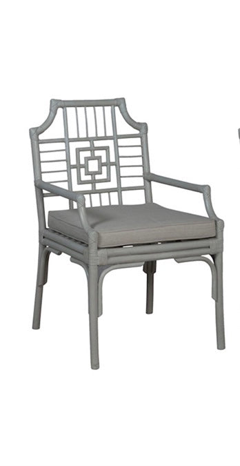 Manor Rattan Arm Chair 23x24x36h