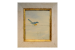 Single Bird Oil 16.75x18.75