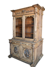 Spindle Hunt Cabinet-7 58x24x96h