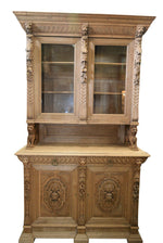 Green Men Hunt Cabinet 57x23x100h