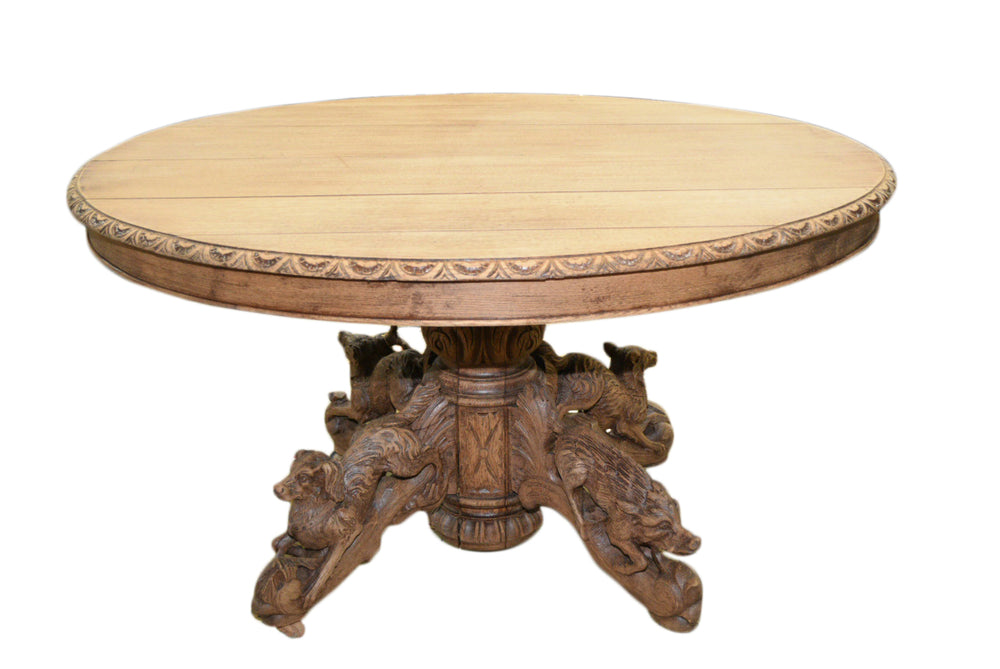 Hound Hunt Table 51x45x27.5h