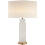 "Alabaster Table Lamp 30.25""h"