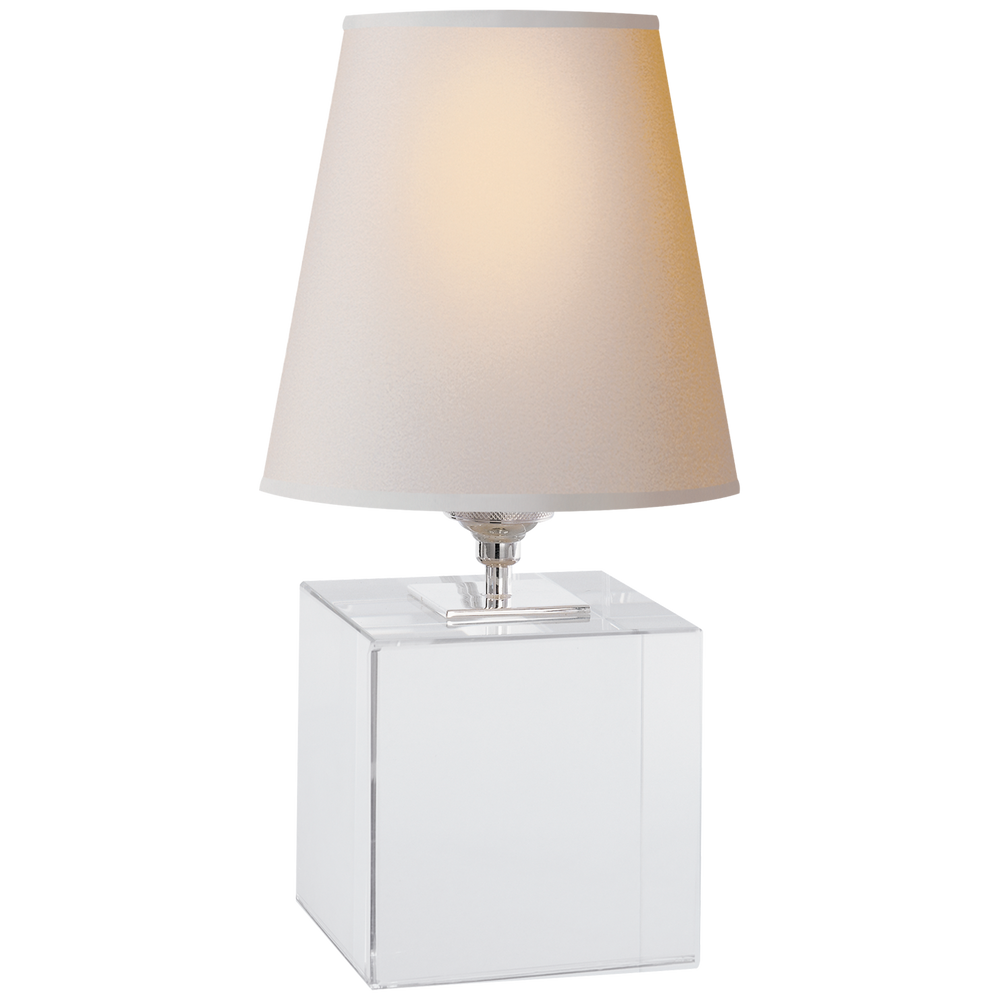 "Crystal Cube Accent Lamp 12.5""h"