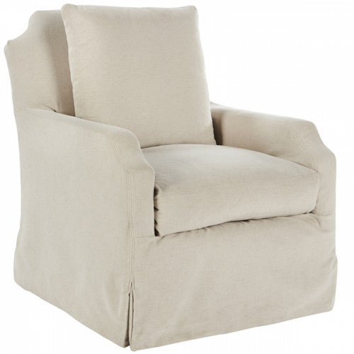 James Swivel Chair CLOUD 34h34.5w28.5d