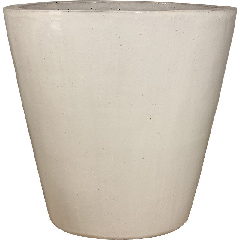 24 in. Vaso Planter - Ant. White