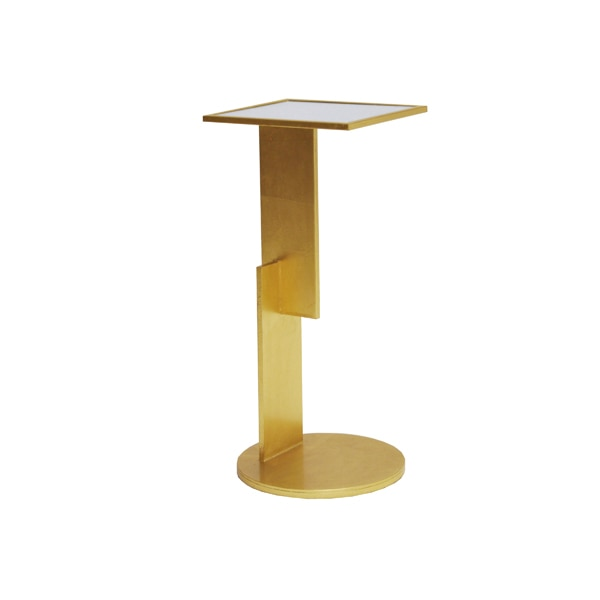 Modern Cigar Table Gold 10x12x26