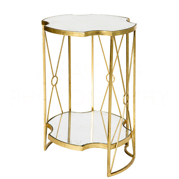 Marlene Double Side Table 24x17x17