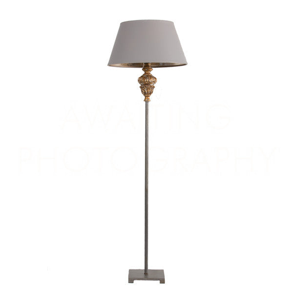 "Rosebud Buffet Lamp 40.5""h"
