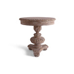 Carnavale Pedestal Table 28x30