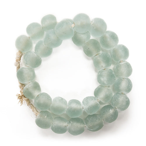 LG Sea Glass Beads Glacier