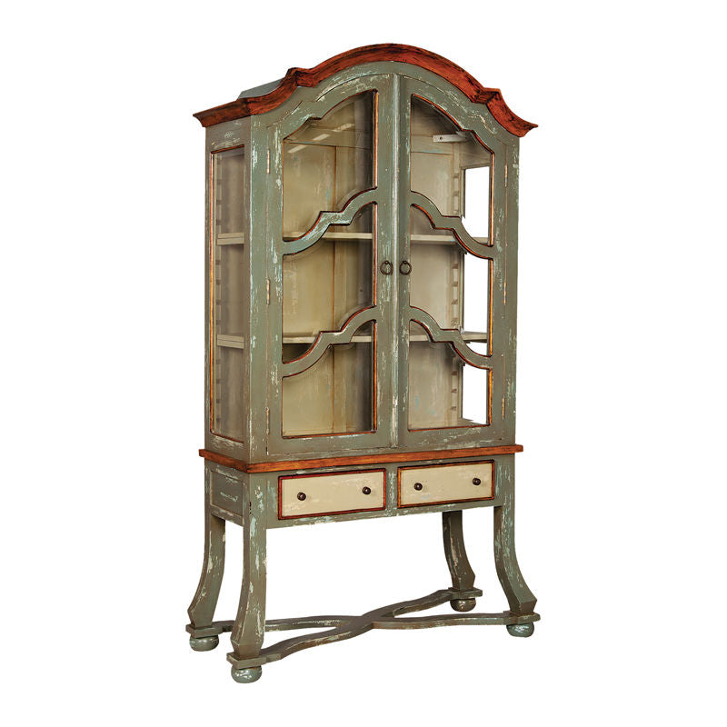 Cottage Display Cabinet 48x19x80h