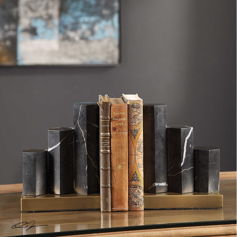 Nate Bookends Set of 2