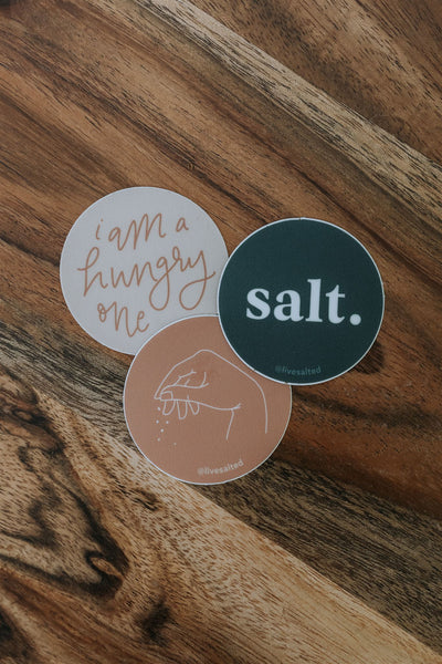 'Salt' Sticker Variety Pack
