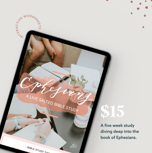 Ephesians Study (PDF DOWNLOAD)