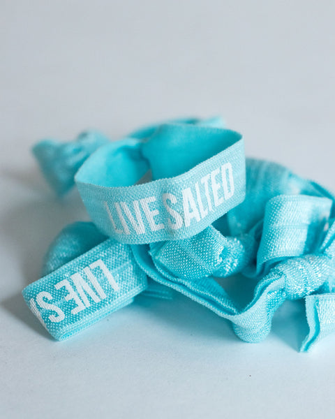 Live Salted Hair Tie