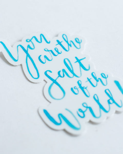 Salt of the World Sticker