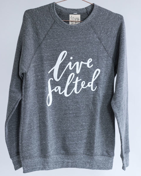 Grey Live Salted Sweatshirt
