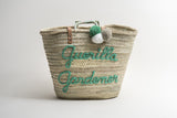 Straw Basket - Parent & Kid set