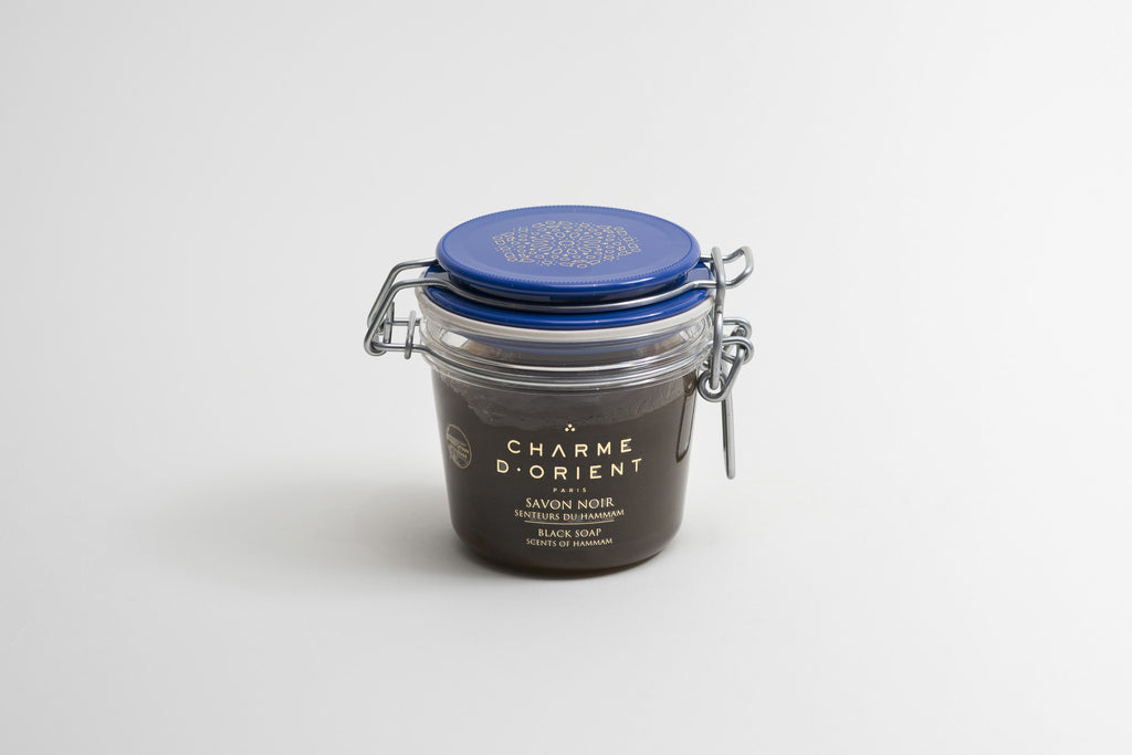 Charme D'Orient Black Soap Scents of Hammam