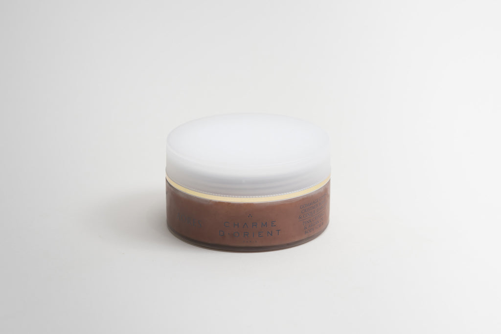 Charme D'Orient Body Scrub with Rose Crystals & Argan Shell closed