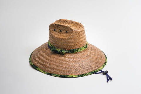 City Straw Hat - Lined