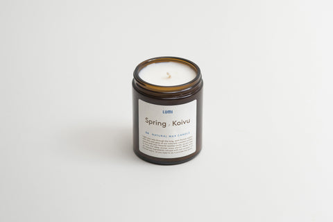 Lumi Natural Wax Candle summer suvi