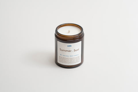 Lumi Natural Wax Candle spring