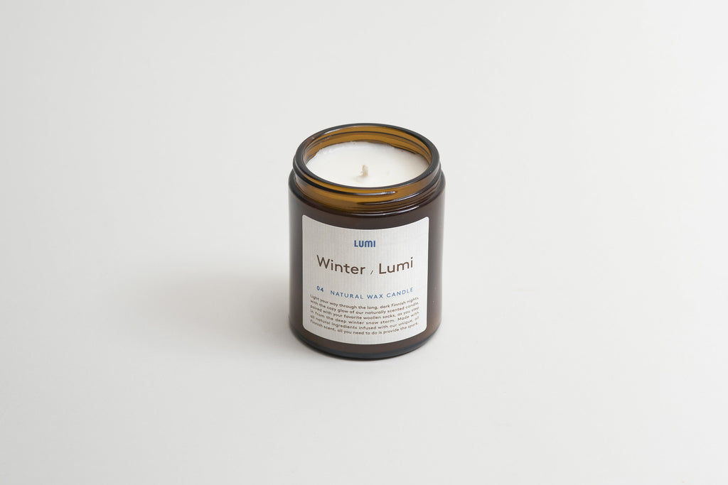 Lumi Natural Wax Candle winter