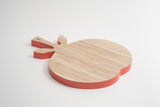 Birch Wood Cutting Board tomato