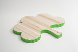 Birch Wood Cutting Board broccoli