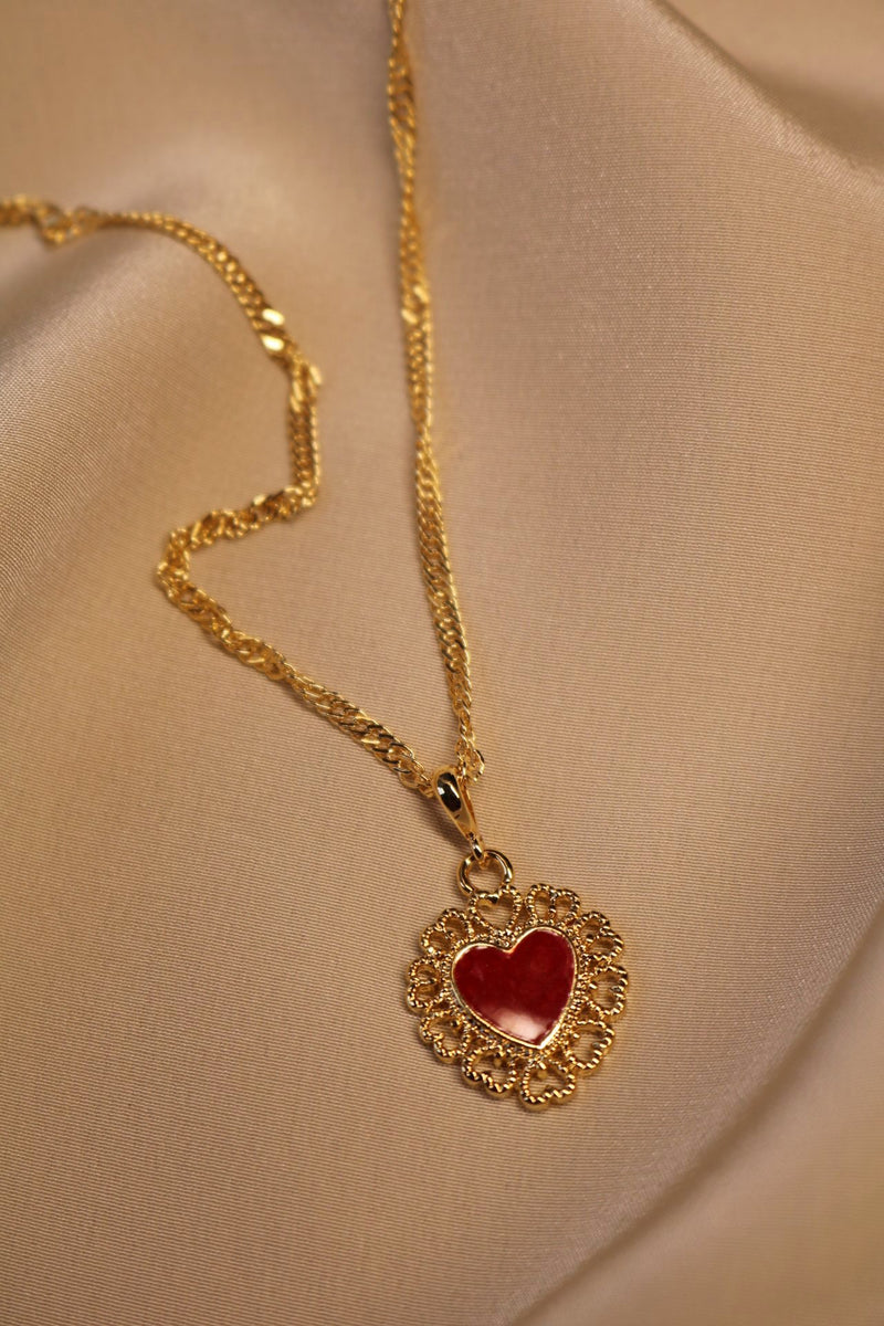 Red Queen Necklace