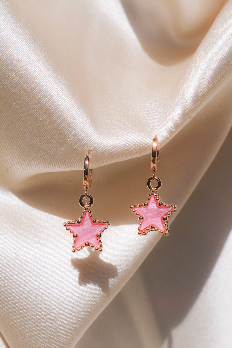 Pretty Star Drop Earrings