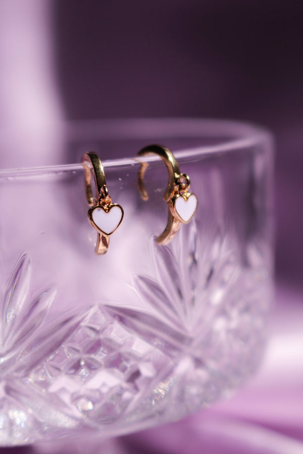 Mini Lover Heart Earrings